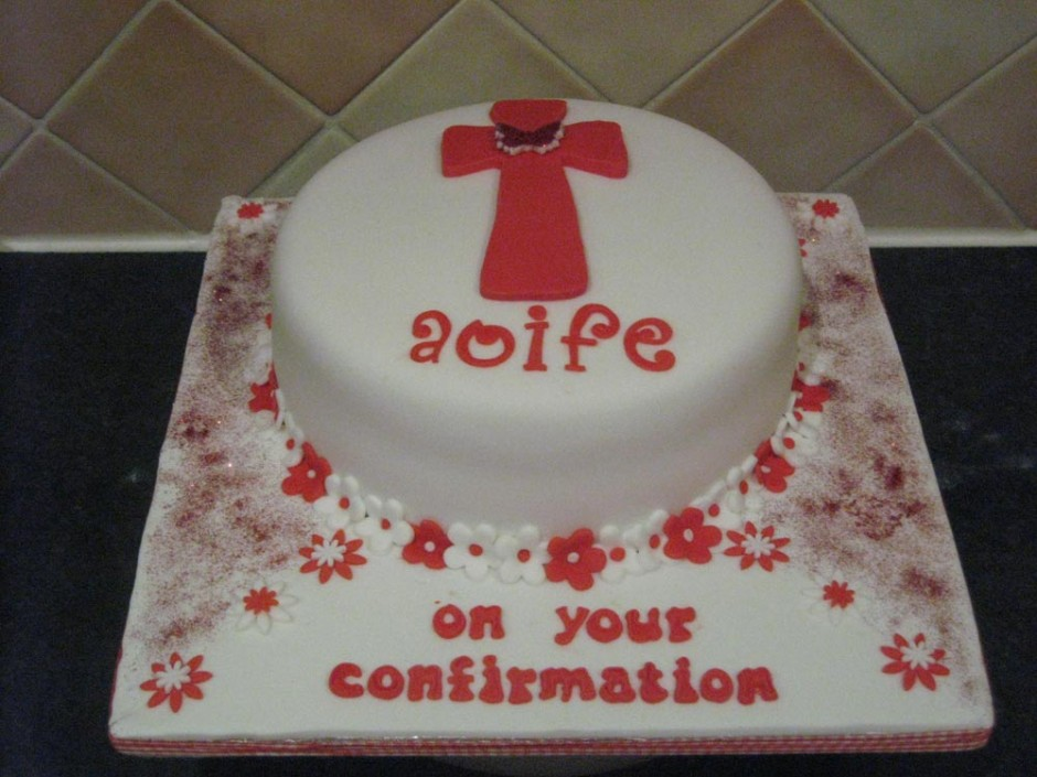 Confirmation Cake Aoife