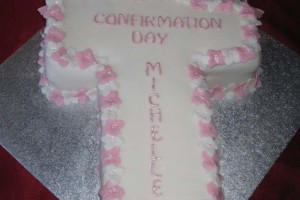 Confirmation Cake Michelle