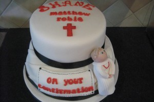 Confirmation Cake Shane