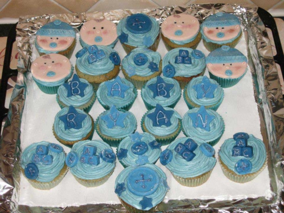Baby Boy Cupcakes Wicklow