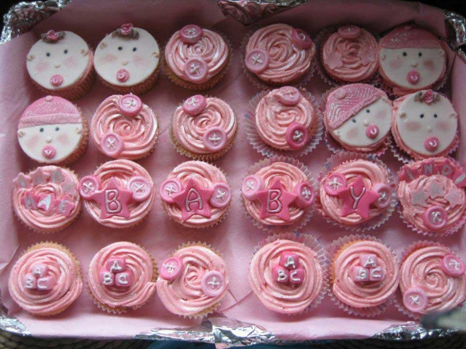 Baby Girl Cupcakes Wicklow