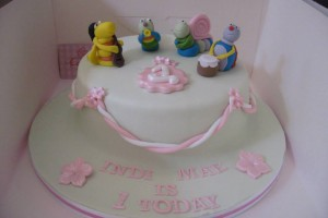 Big Bugs Band Birthday Cake Wicklow