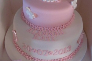 Alannah-Kate's Christening Cake Wicklow