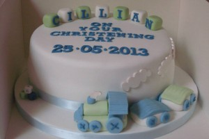 Cillian's Christening Cake Wicklow