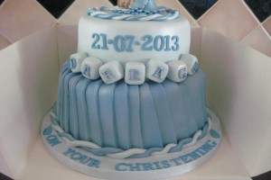 Darragh Christening Cake Wicklow