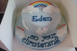 Eden's Christening Cake Wicklow