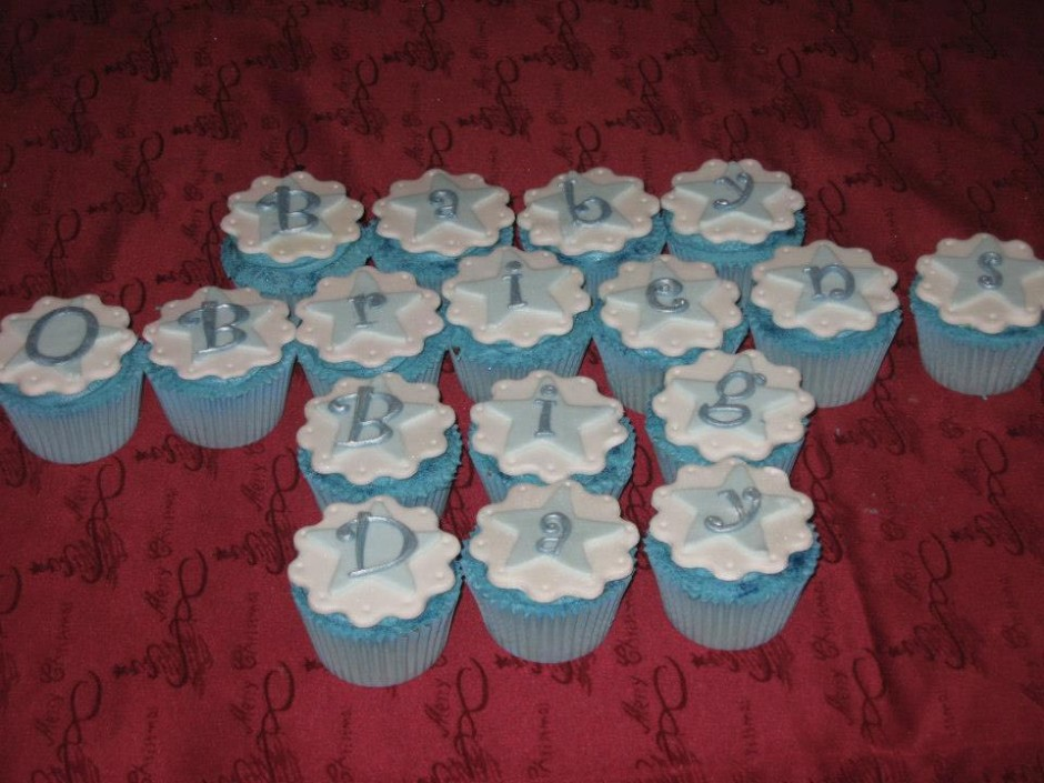 Christening Cupcakes Wicklow