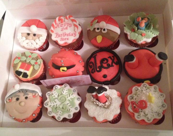 Christmas Cupcakes Wicklow