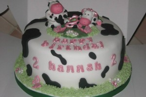 Cow Birthday Cake Wicklow