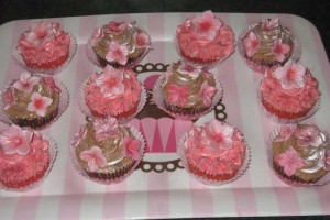 Cupcakes on a tray Wicklow