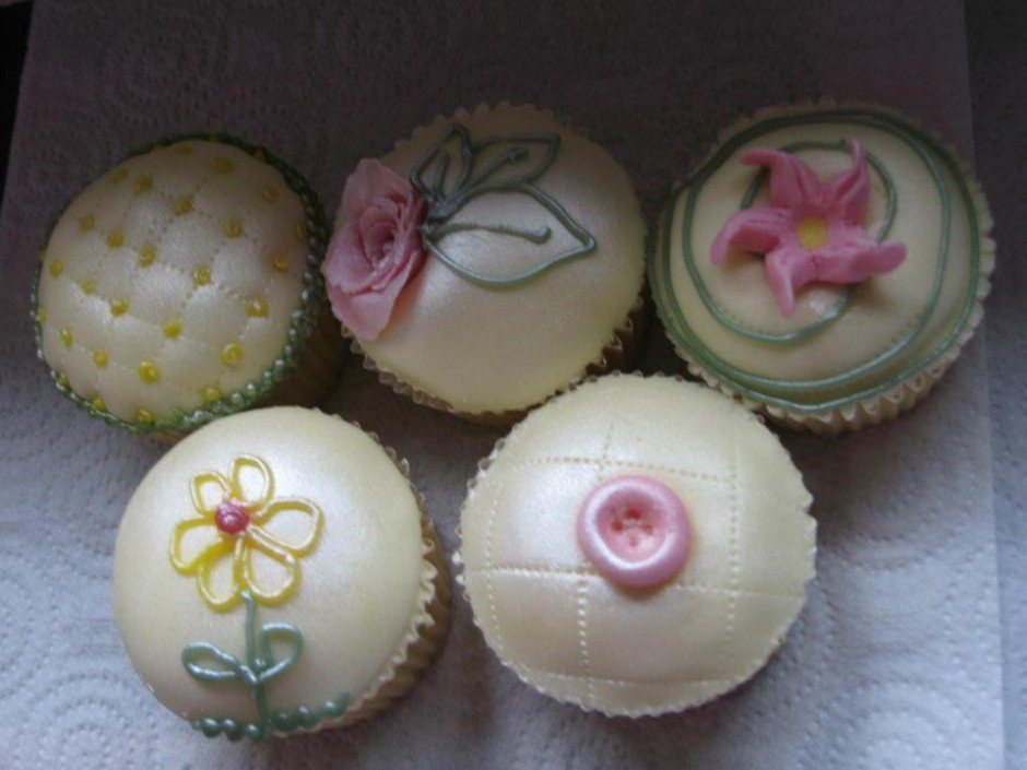 Floral Cupcakes Wicklow