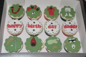 Golf and Football Cupcakes Wicklow