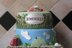 Golfer's Birthday Cake Wicklow