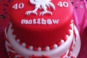 Liverpool Birthday Cake Wicklow