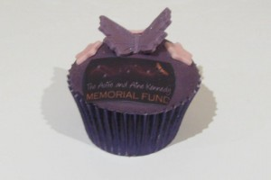 Logo on Cupcake Wicklow