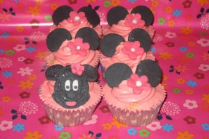 Minnie Mouse Cupcakes Wicklow