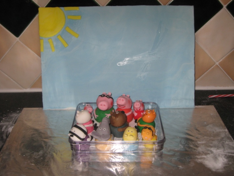 Peppa Pig Sugarcraft Figures