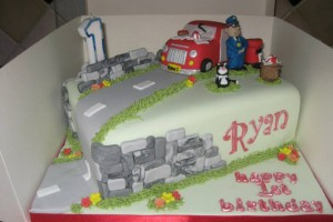 Postman Pat Birthday Cake Wicklow