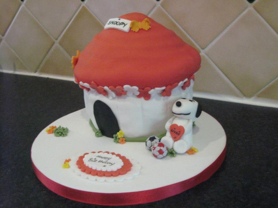 Snoopy Birthday Cake Wicklow