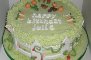 Vegetable Garden Birthday Cake Wicklow