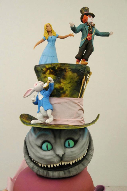 Alice in Wonderland Cake 2
