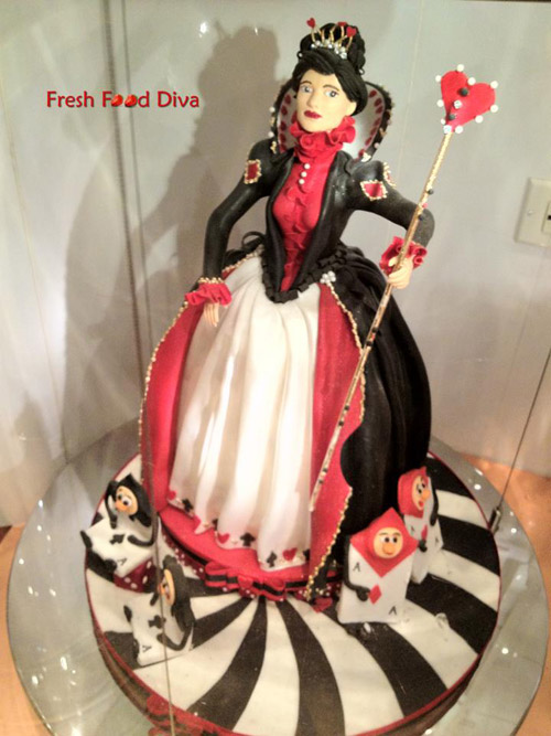 Queen of Hearts Cake